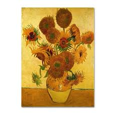 Vase Of Sunflowers Trademark Art