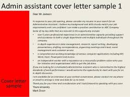 executive administrative assistant cover letter samples
