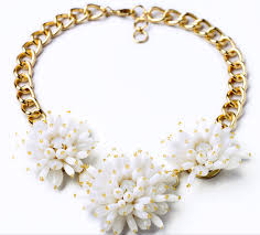 statement necklace with flower images Sandi pointe virtual library of collections jpg
