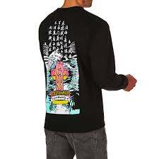 diamond supply co diamond supply co x dogtown a murry long sleeve t shirt black