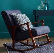 Upholstered Rocking Chairs For Nursery Solid Wood Rocking Chairs Ebay