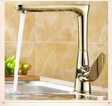 gold kitchen faucets antique copper single handle gold kitchen faucet