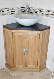 Bathroom Corner Storage Unit Bathroom Extraordinary Bathroom Corner Vessel Sink With