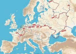 Map Of Romania In Europe by Waterways In Eastern Europe Iwi Campaigns Blog