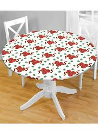 How To Make A Fitted Tablecloth For A Rectangular Table Holiday Fitted Tablecloths Carolwrightgifts Com
