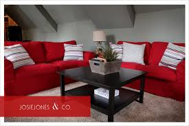 red couch room i kind of like this home is where the heart