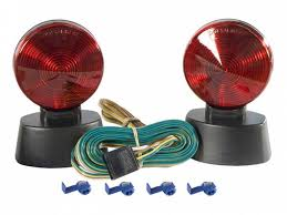 curt magnetic trailer lights curt towing lights