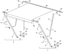 Rv Awning Parts Diagram Awning Roof Bracket Question Popupportal