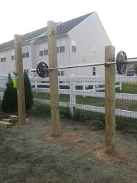 Backyard Pull Up Bar by All Done My Outdoor Workout Space With Squat Rack And Pull Up