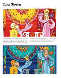 shades of color amazon com christmas traditions coloring book designs originals