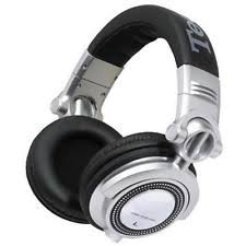s headband technics rp dh1250 s headband headphones silver ebay