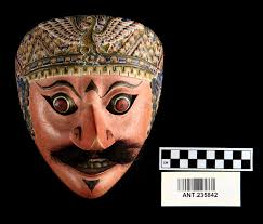 3584 Best Color And Paint by A Carved Wood Face Mask Called A Kelana Painted Flesh Tones With