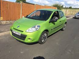 renault clio 1 2 green 2009 2dr manual petrol in sileby