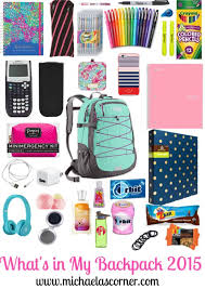 Things To Put In Your Resume Best 25 Backpack Essentials Ideas On Pinterest Backpack