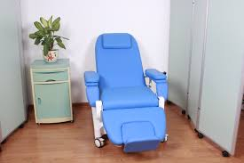 Medical Armchair Dialysis Chair Emergency Patient Trolley Blood Donation Chair