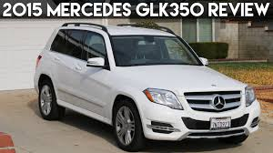 mercedes glk350 2015 mercedes glk350 review