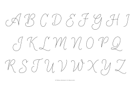 monogram letters casual script monogram embroidery patterns