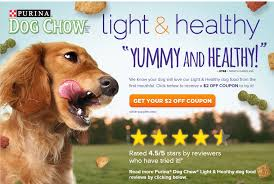purina light and healthy purina dog chow light and healthy 2 1 printable coupon 2 32 after