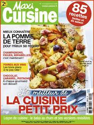 abonnement magazine cuisine réabonnement magazine maxi