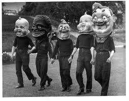 vintage masks via poisonous pulchritude vintage
