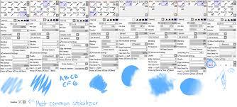 alex u0027s painttoolsai brushes by x al3x on deviantart