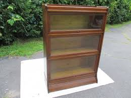 Stacking Bookcase Sold U2013antique C 1910 Signed Weiss 3 Sectional Oak Stacking