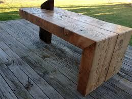 reclaimed timber coffee table huge chunky reclaimed timber industrial artistic coffee table