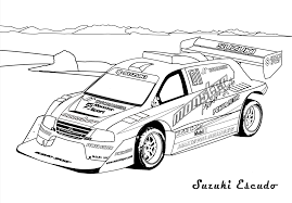 download rally car coloring pages ziho coloring