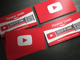 youtube business cards 25 free psd business card template designs