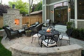 Stone Patio Design Ideas Best  Small Backyard Patio Ideas On - Backyard stone patio designs