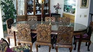 oriental dining room set oriental dining sets lacquer 7 piece dining room set black mother
