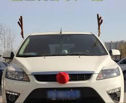 reindeer car car truck auto reindeer antlers costume dress up car