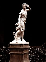 panoramio photo of statue of the greek goddess artemis latin