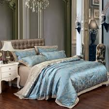 Bed Covers Set New Fashion Home Textile Satin The Wedding Jacquard 100 Luxurious