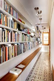 piso biblioteca barcelona flat hallway modernismo pinterest
