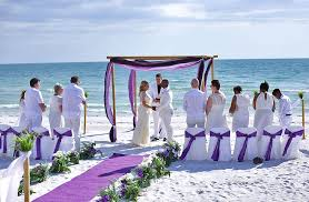 Beach Wedding 1 Ocean Waves Florida Beach Wedding Siesta Destination