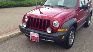 2006 jeep liberty renegade 4x4 6 speed hometown motors of wausau