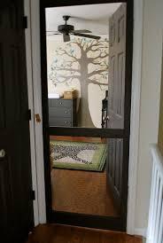 Cat Door For Interior Door by Best 25 Pet Screen Door Ideas On Pinterest Garage Garage Door