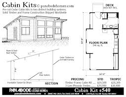 Seasonal Cedar Log Timber Cabin And Tiny House Kits By Pan Abode Remote Cabin Floor Plans