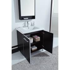 lucas 32 inch modern single sink bathroom vanity espresso finish