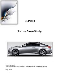 lexus recall database lexus case study lexus luxury vehicles