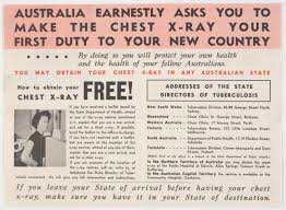 x au bureau leaflet you must a chest x commonwealth department of