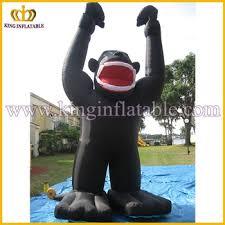 gorilla balloon outdoor advertising kingkong black gorilla