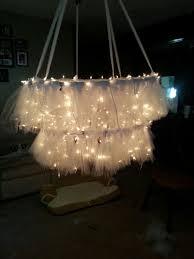 Making Chandeliers Best 25 Hula Hoop Chandelier Ideas On Pinterest Hula Hoop Light
