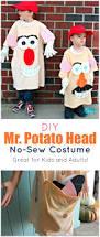 Potato Head Halloween Costume Diy Sew Potato Head Costume Kids Adults