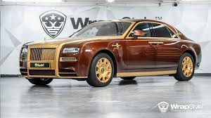 rolls royce mansory behold the super cool mansory wrapstyle rolls royce phantom