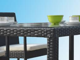 ensemble table avec chaises de jardin en r礬sine atlas