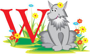 free preschool alphabet worksheets letter w is for wolf words