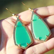 nelly earrings earrings turquoise
