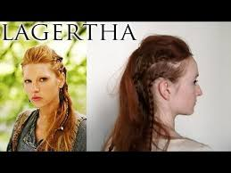 how to do hair like lagatha lothbrok lagertha lothbrok hair tutorial foto video
